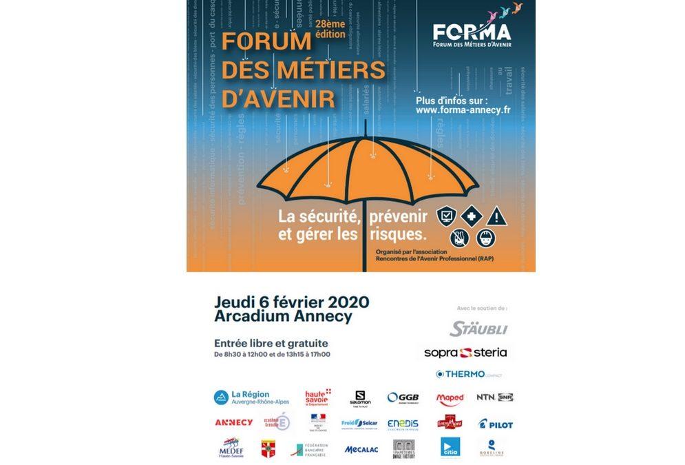 Découvrez l'affiche du 28ème Forum des Métiers d'Avenir